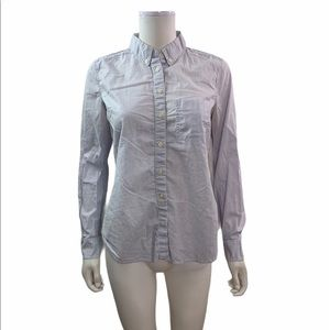 Gap The Tailor Shirt  Striped Button Down Shirt